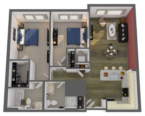 Renwick Floor Plan