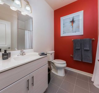 Studio 3807 Bathroom