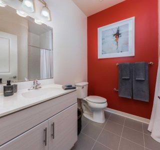 Studio 3807 Bathroom in apartment