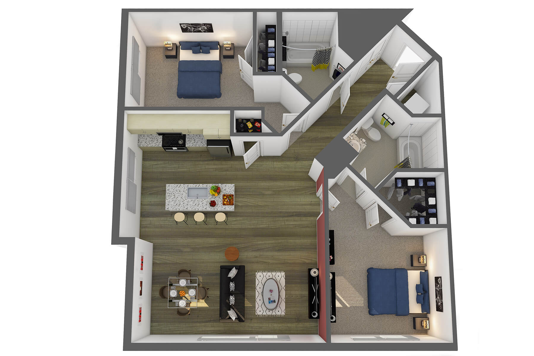 Floor Plans & Pricing | Studio 3807 Apartments