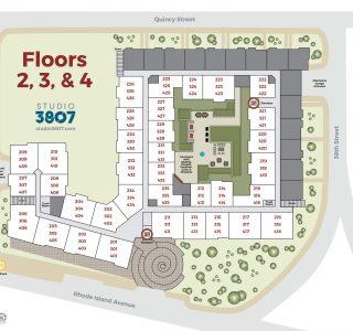3807 Floor 2-3-4