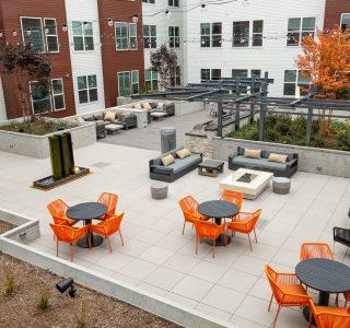 Studio 3807 Courtyard