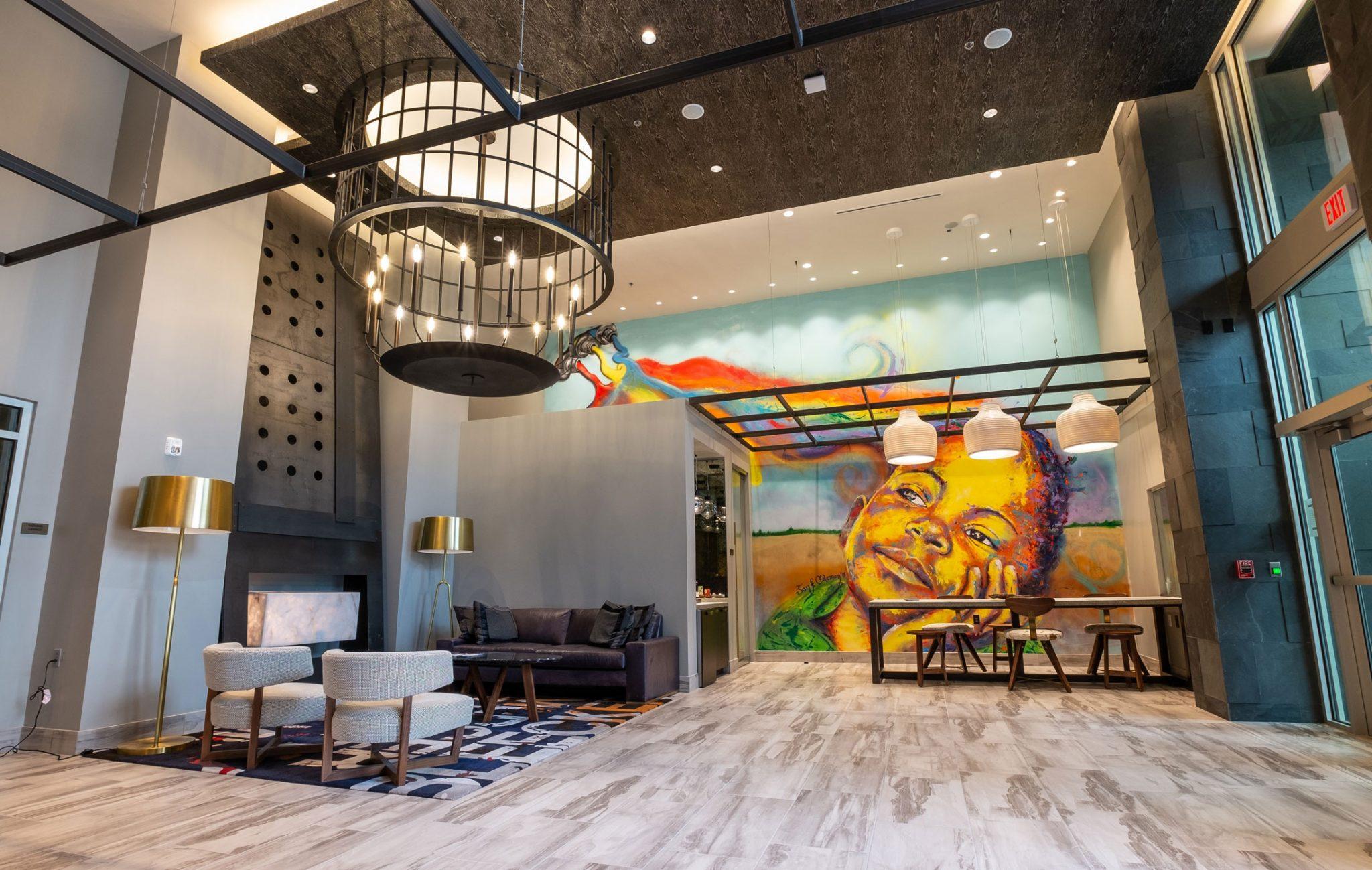 Studio 3807 Lobby