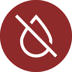 Reduce water waste icon