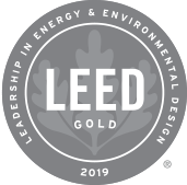 LEED Gold 2019 logo