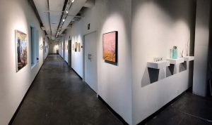 Interior of Portico 3807 Gallery & Studios
